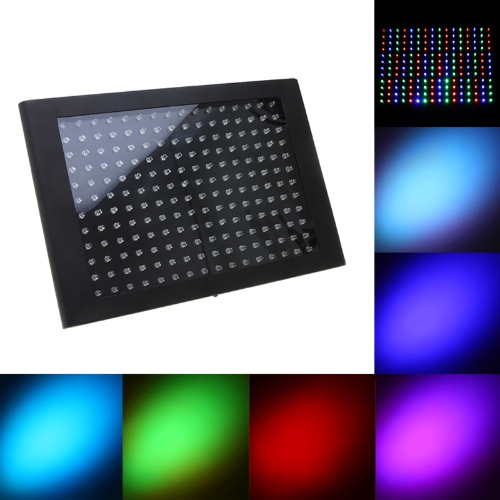 192 LEDs RGB Stage Lighting Effect Flat Panel LightHome &amp; Garden<br>192 LEDs RGB Stage Lighting Effect Flat Panel Light<br>