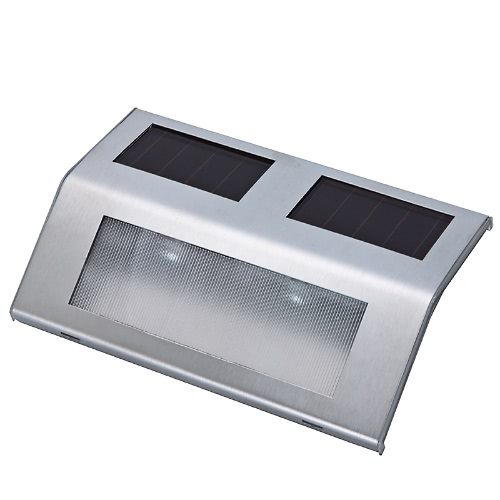 Solar Power Light for Stairway Corridor Path Garden Fence Wall 2 LEDHome &amp; Garden<br>Solar Power Light for Stairway Corridor Path Garden Fence Wall 2 LED<br>