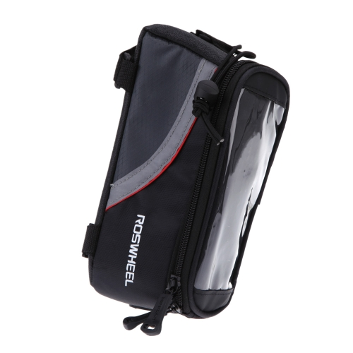 "Bike Bicycle Frame Front Tube Bag for Cell Phone 4.8"" PVC RedSports &amp; Outdoor<br>Bike Bicycle Frame Front Tube Bag for Cell Phone 4.8"" PVC Red<br>"