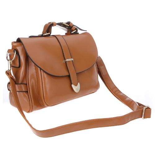 Fashion Retro Womens Messenger Bag Totes Satchel Shoulder Bag Handbag Baguette BrownApparel &amp; Jewelry<br>Fashion Retro Womens Messenger Bag Totes Satchel Shoulder Bag Handbag Baguette Brown<br>
