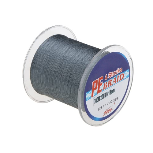 300M 20LB 0.18mm Fishing Line Strong Braided 4 StrandsSports &amp; Outdoor<br>300M 20LB 0.18mm Fishing Line Strong Braided 4 Strands<br>