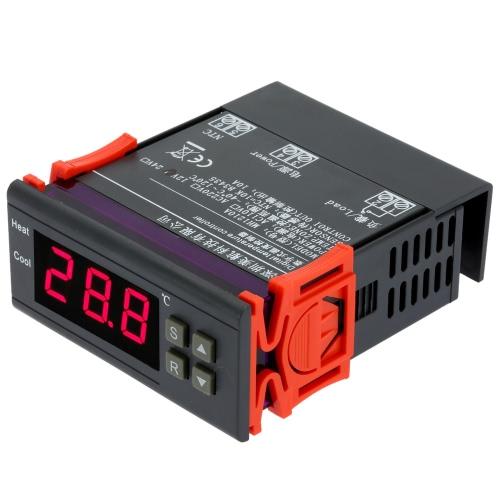 10A 12V digital Contrôleur de température thermocouple -40 ℃ à 120 ℃ avec capteur