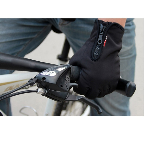 Touch Screen Windproof Warm Gloves Outdoor Cycling Skiing Hiking Unisex BlackSports &amp; Outdoor<br>Touch Screen Windproof Warm Gloves Outdoor Cycling Skiing Hiking Unisex Black<br>