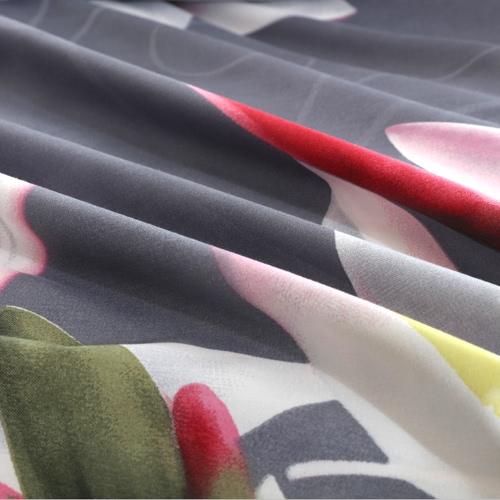 4pcs 3D Printed Bedding Set Bedclothes White Lily on Light Black Background King Size Duvet Cover+Bed Sheet+2 PillowcasesHome &amp; Garden<br>4pcs 3D Printed Bedding Set Bedclothes White Lily on Light Black Background King Size Duvet Cover+Bed Sheet+2 Pillowcases<br>