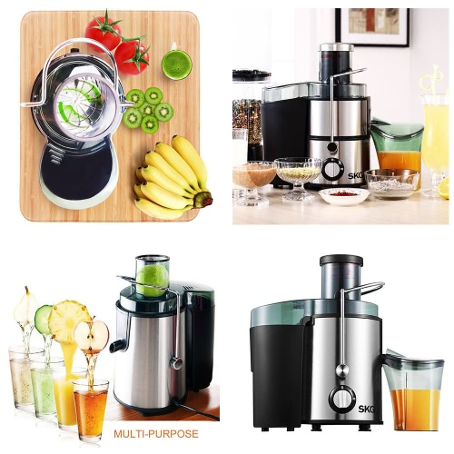 SKG Premium 22,000 RPM High Yield Stainless Steel Wide Mouth Juice ExtractorHome &amp; Garden<br>SKG Premium 22,000 RPM High Yield Stainless Steel Wide Mouth Juice Extractor<br>