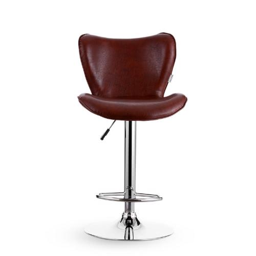 iKayaa 2PCS/Set of 2 PU Leather Swivel Bar Stool Chair Height Adjustable Pneumatic Counter Pub Chair Barstools Heavy-dutyHome &amp; Garden<br>iKayaa 2PCS/Set of 2 PU Leather Swivel Bar Stool Chair Height Adjustable Pneumatic Counter Pub Chair Barstools Heavy-duty<br>