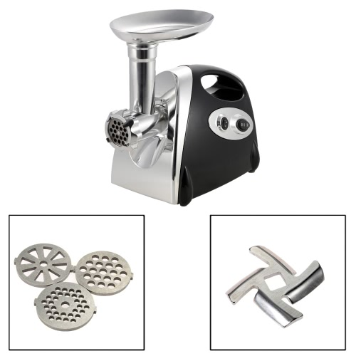 100-120V Brand New 300W Electric Meat Grinder Aluminium Alloy Household or Commercial Sausage Maker Meats Mincer Food Grinding MinHome &amp; Garden<br>100-120V Brand New 300W Electric Meat Grinder Aluminium Alloy Household or Commercial Sausage Maker Meats Mincer Food Grinding Min<br>