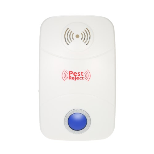 Electronic Ultrasonic Pest Repeller Non-toxic Mosquito Ants Spiders Roaches Repelling AC90V-250VHome &amp; Garden<br>Electronic Ultrasonic Pest Repeller Non-toxic Mosquito Ants Spiders Roaches Repelling AC90V-250V<br>