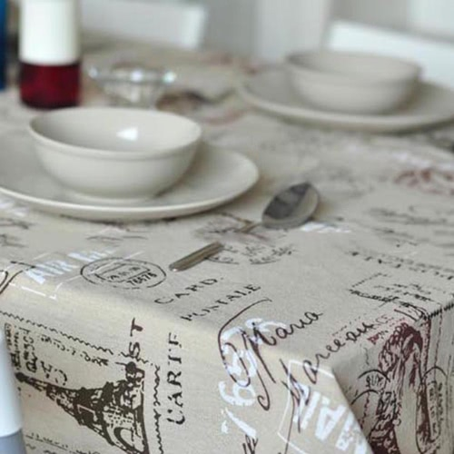 Cotton &amp; Linen Table Cloth Dust-proof Table CoverHome &amp; Garden<br>Cotton &amp; Linen Table Cloth Dust-proof Table Cover<br>