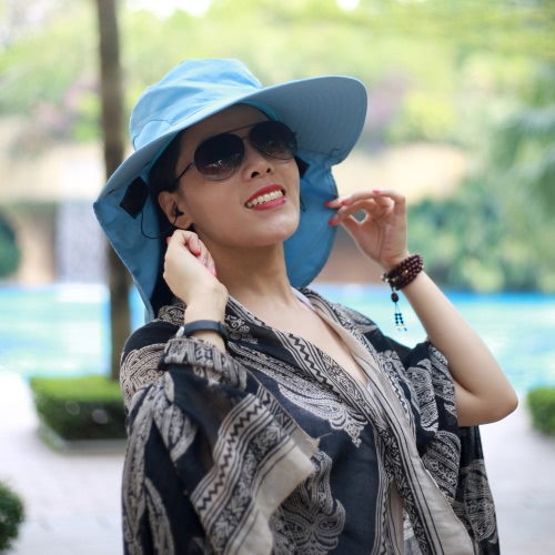 New Fashion Nylon Bluetooth Sun Hats Large Brimmed Hat for Woman Summer Bluetooth Music Hat Wireless Hands-Free Smart Cap HeadphonHome &amp; Garden<br>New Fashion Nylon Bluetooth Sun Hats Large Brimmed Hat for Woman Summer Bluetooth Music Hat Wireless Hands-Free Smart Cap Headphon<br>