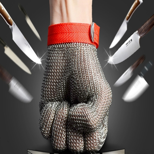 High-quality Stainless Steel Mesh Knife Cut Resistant Chain Mail Protective GloveHome &amp; Garden<br>High-quality Stainless Steel Mesh Knife Cut Resistant Chain Mail Protective Glove<br>