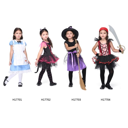 Festnight Fun &amp; Fancy Princess Costumes Christmas Day Halloween Girls Dress Cat Suit Cute Catwoman Cosplay Costume Party ClothesHome &amp; Garden<br>Festnight Fun &amp; Fancy Princess Costumes Christmas Day Halloween Girls Dress Cat Suit Cute Catwoman Cosplay Costume Party Clothes<br>