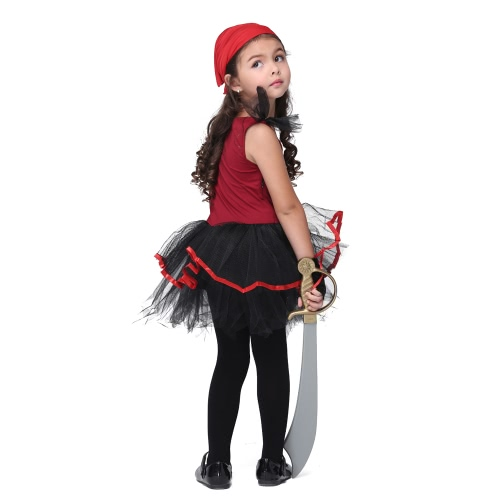 Festnight Fancy Pirate Costumes Christmas Day Halloween Girls Dress Suit Cute Piracy Cosplay Costume Party ClothesHome &amp; Garden<br>Festnight Fancy Pirate Costumes Christmas Day Halloween Girls Dress Suit Cute Piracy Cosplay Costume Party Clothes<br>