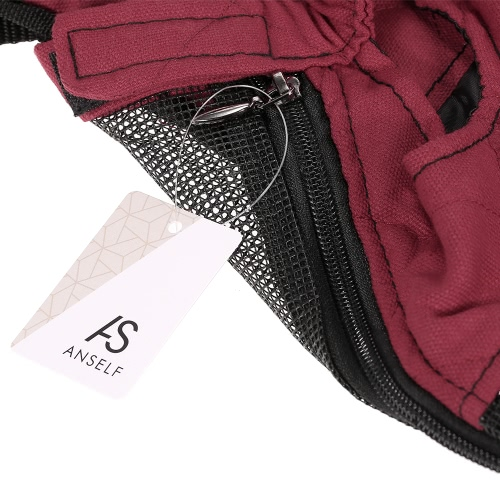 Anself Breathable Cute Canvas Pet Bag Puppy Dog Cat Carrier Head out Front Chest Backpack for Outdoor Travel UseHome &amp; Garden<br>Anself Breathable Cute Canvas Pet Bag Puppy Dog Cat Carrier Head out Front Chest Backpack for Outdoor Travel Use<br>
