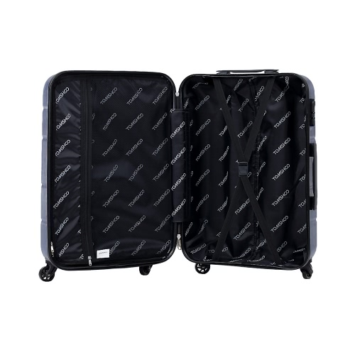 TOMSHOO Luxury 3PCS Spinner Luggage Set Hard Shell 20/24/28 Carry-on Suitcase PC + ABS Trolley W/ Combination LockHome &amp; Garden<br>TOMSHOO Luxury 3PCS Spinner Luggage Set Hard Shell 20/24/28 Carry-on Suitcase PC + ABS Trolley W/ Combination Lock<br>