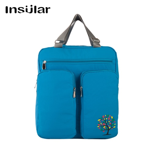 Insular Large Capacity Multi-functional Mommy Bag Excellent Water Resistance Nappy Bag Baby Diaper Bag Backpack Organizer with StrHome &amp; Garden<br>Insular Large Capacity Multi-functional Mommy Bag Excellent Water Resistance Nappy Bag Baby Diaper Bag Backpack Organizer with Str<br>