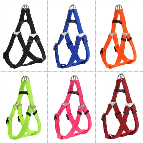 Durable Nylon Material Safety Dog Vest Adjustable Harness Belt Leash Chest Strap Pet VestHome &amp; Garden<br>Durable Nylon Material Safety Dog Vest Adjustable Harness Belt Leash Chest Strap Pet Vest<br>