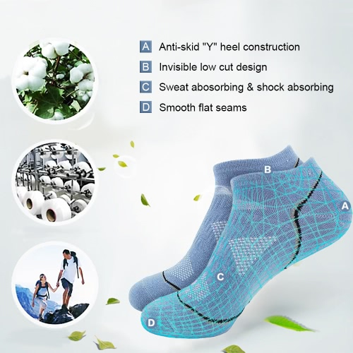 3 Pairs Mens Breathable Cotton Low Cut No Show Boat Socks Running Cycling Sport Athletic Ankle Socks for US 7.5-9.5 / UK 6.5-8.5Home &amp; Garden<br>3 Pairs Mens Breathable Cotton Low Cut No Show Boat Socks Running Cycling Sport Athletic Ankle Socks for US 7.5-9.5 / UK 6.5-8.5<br>