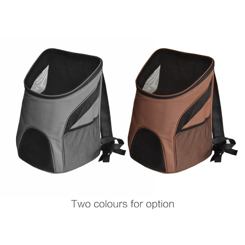 Portable Outdoor Pet Dog Cat Bag Mesh Double Shoulder Backpack Travel Carrier for Puppies Kittens RabbitsHome &amp; Garden<br>Portable Outdoor Pet Dog Cat Bag Mesh Double Shoulder Backpack Travel Carrier for Puppies Kittens Rabbits<br>