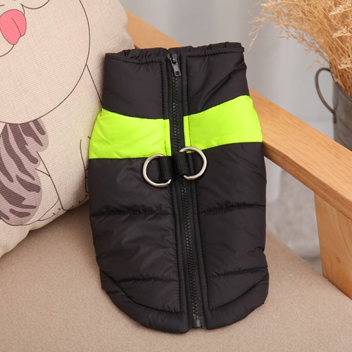 Warm Pet Puppy Winter Clothes Cold Weather Dog Vest Jacket Coat Zipper Cotton ColthingHome &amp; Garden<br>Warm Pet Puppy Winter Clothes Cold Weather Dog Vest Jacket Coat Zipper Cotton Colthing<br>