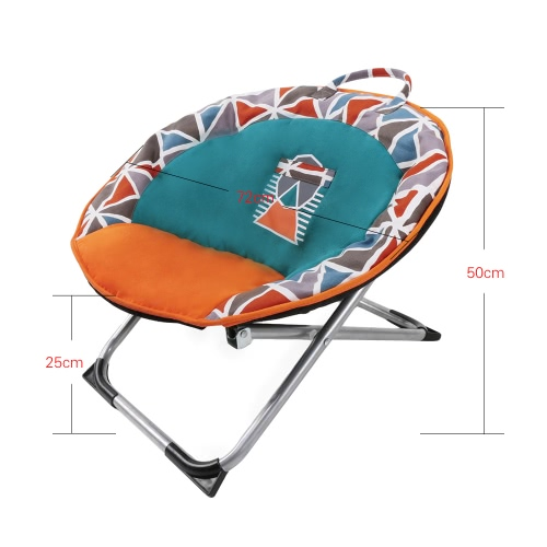 Professional Folding Pets Puppy Mini Saucer Moon Chair Round Seat Adopt for Soft Durable Canvas 55 * 25 * 40cm / 22 * 10 * 16inHome &amp; Garden<br>Professional Folding Pets Puppy Mini Saucer Moon Chair Round Seat Adopt for Soft Durable Canvas 55 * 25 * 40cm / 22 * 10 * 16in<br>