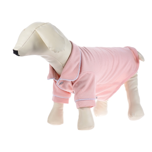 Soft Dog Pajamas Shirt Sleepwear Lightweight with Lapel Button Adopt for Acrylic Fibers &amp; CottonHome &amp; Garden<br>Soft Dog Pajamas Shirt Sleepwear Lightweight with Lapel Button Adopt for Acrylic Fibers &amp; Cotton<br>