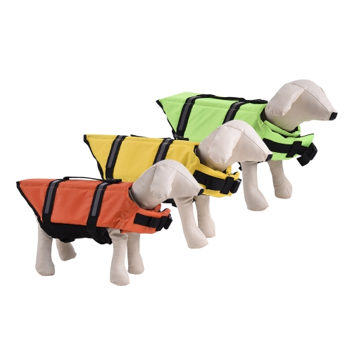 Pets Dog Life Jacket Buoyant Secure Float Vest Outdoor Water Swimming Safety Preserver Adjustable Reflecting Padding ClothingHome &amp; Garden<br>Pets Dog Life Jacket Buoyant Secure Float Vest Outdoor Water Swimming Safety Preserver Adjustable Reflecting Padding Clothing<br>