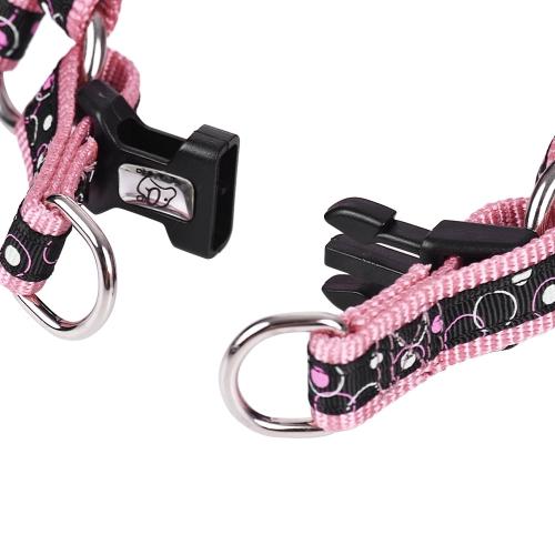 2pcs/Set Pink Leopard  Dog Harness &amp; Leash Set Includes Adjustable Harness 1.2m Walking Leash S/L Size for Small/Medium/Large DogsHome &amp; Garden<br>2pcs/Set Pink Leopard  Dog Harness &amp; Leash Set Includes Adjustable Harness 1.2m Walking Leash S/L Size for Small/Medium/Large Dogs<br>