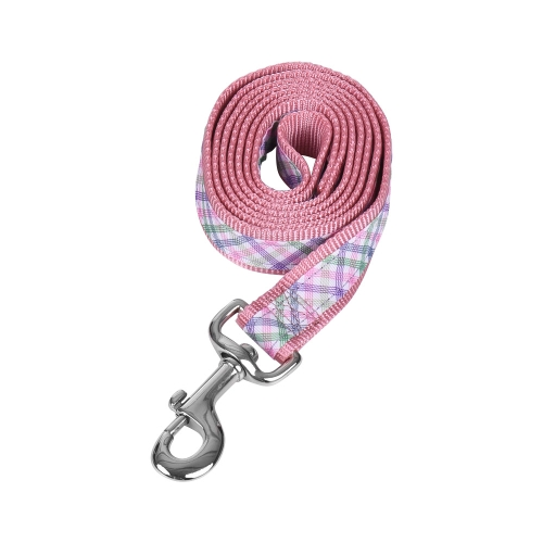 2pcs/Set Pink Leopard  Dog Harness &amp; Leash Set Includes Adjustable Harness 1.2m Walking Leash S/L Size for Small/Medium/Large DogsHome &amp; Garden<br>2pcs/Set Pink Leopard  Dog Harness &amp; Leash Set Includes Adjustable Harness 1.2m Walking Leash S/L Size for Small/Medium/Large Dogs<br>