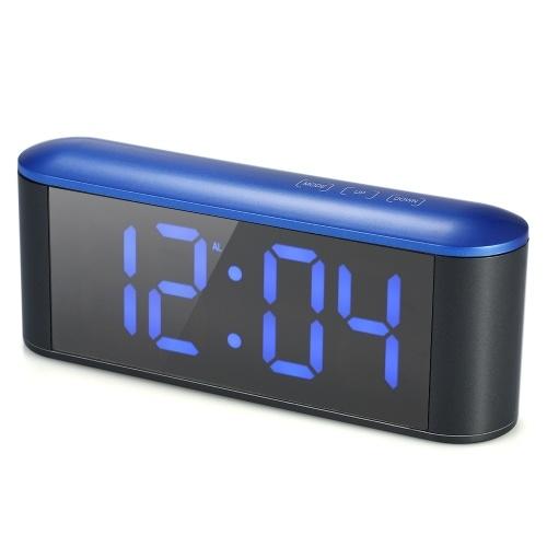 التحكم الرقمي LED تعمل باللمس مرآة على مدار الساعة