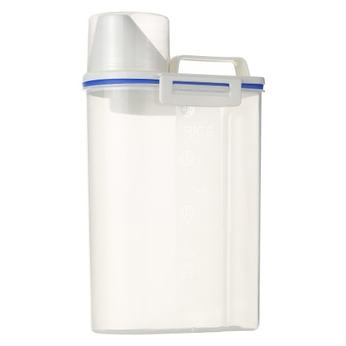 1.5L Portable Plastic Rice Storage Bin