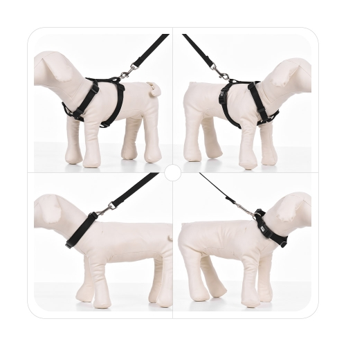 3pcs/Set Dog Collar &amp; Harness &amp; Leash Set Adjustable Collar Harness 1.2m Walking Leash XS/S/M/L Size for Small/Medium/Large Dogs CHome &amp; Garden<br>3pcs/Set Dog Collar &amp; Harness &amp; Leash Set Adjustable Collar Harness 1.2m Walking Leash XS/S/M/L Size for Small/Medium/Large Dogs C<br>