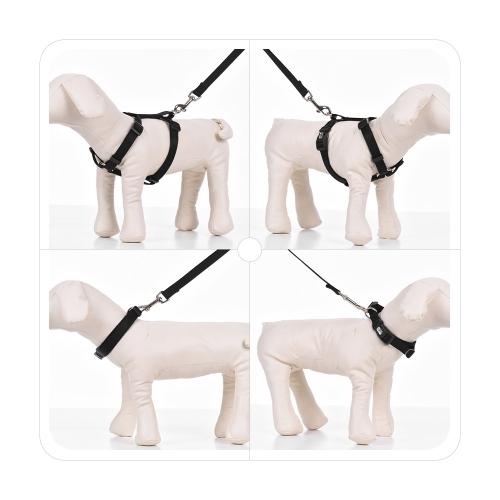 3pcs/Set Dog Collar &amp; Harness &amp; Leash Set Adjustable Collar Harness 1.2m Walking Leash XS/S/M/L Size for Small/Medium/Large Dogs CHome &amp; Garden<br>3pcs/Set Dog Collar &amp; Harness &amp; Leash Set Adjustable Collar Harness 1.2m Walking Leash XS/S/M/L Size for Small/Medium/Large Dogs C<br>