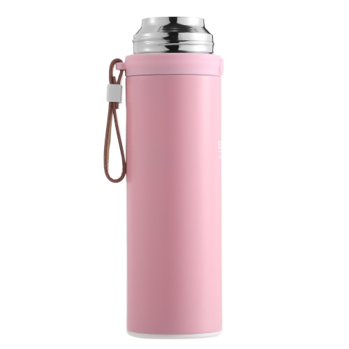 450ml Sports Stainless Steel Vacuum Insulated Cup Mug Water Coffee Tea Thermal Thermos Bottle with Hand StrapHome &amp; Garden<br>450ml Sports Stainless Steel Vacuum Insulated Cup Mug Water Coffee Tea Thermal Thermos Bottle with Hand Strap<br>