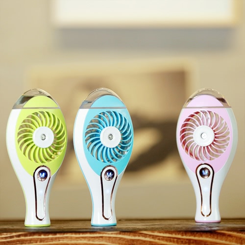 2 in 1 Handheld Portable Mini Humidifier + Cooling Air Fan USB DC5V Office Air Diffuser Mist MakerHome &amp; Garden<br>2 in 1 Handheld Portable Mini Humidifier + Cooling Air Fan USB DC5V Office Air Diffuser Mist Maker<br>
