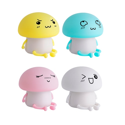 Cute Soft Silicone LED Night Light USB Rechargeable Baby Nursery Lamp Vibration Sensitive Tap Control 2 Lighting ModesHome &amp; Garden<br>Cute Soft Silicone LED Night Light USB Rechargeable Baby Nursery Lamp Vibration Sensitive Tap Control 2 Lighting Modes<br>