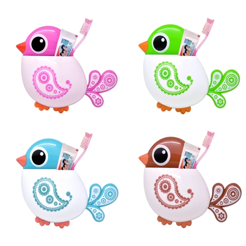 Powerful Suction Cartoon Bird Toothbrush Storage Rack Toothbrush Little Birdy Toothbrush Toothpaste Plastic HolderHome &amp; Garden<br>Powerful Suction Cartoon Bird Toothbrush Storage Rack Toothbrush Little Birdy Toothbrush Toothpaste Plastic Holder<br>