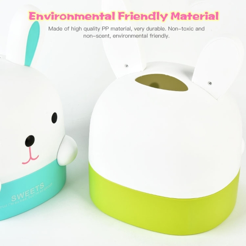 Creative Living Room Cartoon Cute Rabbit Shaped Napkin Paper Towel Box Tissue Roll Paper Holder Cover RB264Home &amp; Garden<br>Creative Living Room Cartoon Cute Rabbit Shaped Napkin Paper Towel Box Tissue Roll Paper Holder Cover RB264<br>