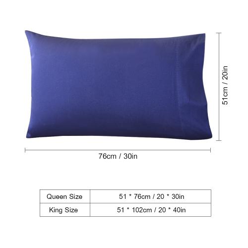 Htovila 2pcs/set 300 Thread Count 100% Cotton Pillow Cases Soft Breathable Envelope Closure End Pillow Covers Pillowcases--Grey, QHome &amp; Garden<br>Htovila 2pcs/set 300 Thread Count 100% Cotton Pillow Cases Soft Breathable Envelope Closure End Pillow Covers Pillowcases--Grey, Q<br>