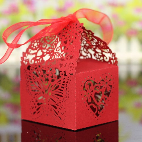 20PCS Laser Cut Romantic Butterfly DIY Gift Candy Boxes Wedding Birthday Party Favor with Ribbons Bridal Baby Shower Banquet BoxesHome &amp; Garden<br>20PCS Laser Cut Romantic Butterfly DIY Gift Candy Boxes Wedding Birthday Party Favor with Ribbons Bridal Baby Shower Banquet Boxes<br>