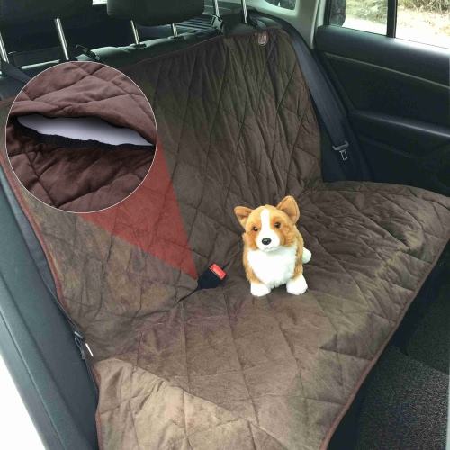 Luxury Water Resistant Non-skid Pet Backseat Cover Dog Cat Puppy Safety Rear Bench Seat Protector Quilted Mat for CarsHome &amp; Garden<br>Luxury Water Resistant Non-skid Pet Backseat Cover Dog Cat Puppy Safety Rear Bench Seat Protector Quilted Mat for Cars<br>
