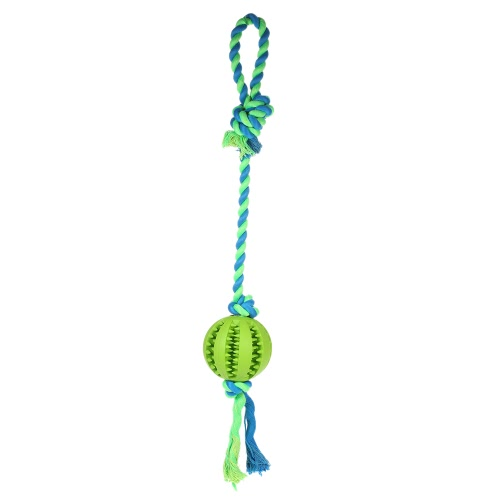 Dog Ball with Rope Small Fetch and Tug Rope Interactive IQ Pet Dog Ball Toy Dog Teeth Cleaning Chew Toy Non-Toxic Safe Dog EntertaHome &amp; Garden<br>Dog Ball with Rope Small Fetch and Tug Rope Interactive IQ Pet Dog Ball Toy Dog Teeth Cleaning Chew Toy Non-Toxic Safe Dog Enterta<br>