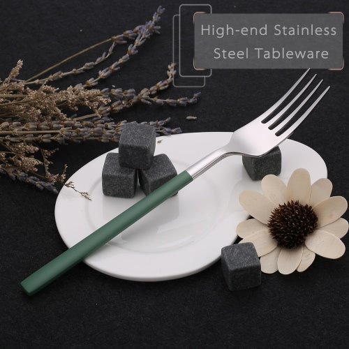 Anself High-end Flatware Fork Western Tableware Stainless Steel Good Quality Steak ForkHome &amp; Garden<br>Anself High-end Flatware Fork Western Tableware Stainless Steel Good Quality Steak Fork<br>