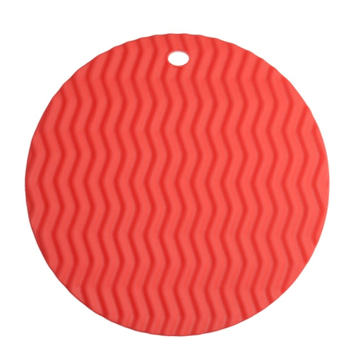 Circular  Waved Shape Insulation Cushion Multi-functional Silicone Heat Resistant Pad Non-slip Kitchen Use  Anti Ironing CasseroleHome &amp; Garden<br>Circular  Waved Shape Insulation Cushion Multi-functional Silicone Heat Resistant Pad Non-slip Kitchen Use  Anti Ironing Casserole<br>