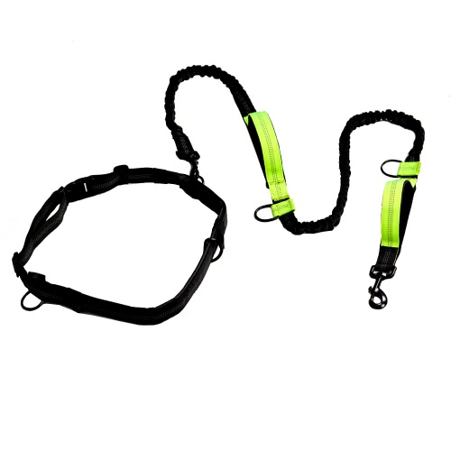 Outdoor Retractable Hands Free Nylon Dog Leash Pet Strap Lead Safety Traction Rope with Shock Absorption Dual Bungees for WalkingHome &amp; Garden<br>Outdoor Retractable Hands Free Nylon Dog Leash Pet Strap Lead Safety Traction Rope with Shock Absorption Dual Bungees for Walking<br>