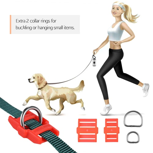 Dog Collar Leash Connector Automatic Magnetic Magic Latch with Fastener Stainless SteelHome &amp; Garden<br>Dog Collar Leash Connector Automatic Magnetic Magic Latch with Fastener Stainless Steel<br>