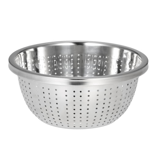 Multifunction Drain Basket Double Layer Fruit &amp; Vegetable Washing Draining Basket Stainless Steel Strainer Basket Kitchen ColanderHome &amp; Garden<br>Multifunction Drain Basket Double Layer Fruit &amp; Vegetable Washing Draining Basket Stainless Steel Strainer Basket Kitchen Colander<br>