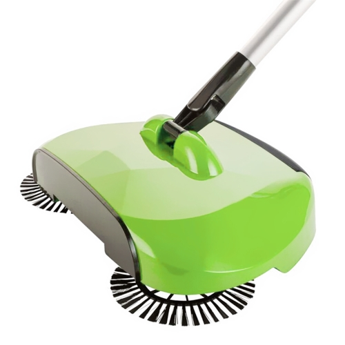 Hand Push Sweeper Automatic Stainless Steel Sweeping Machine Handle Broom Household Floor Cleaning Package 360 Degree Rotation SweHome &amp; Garden<br>Hand Push Sweeper Automatic Stainless Steel Sweeping Machine Handle Broom Household Floor Cleaning Package 360 Degree Rotation Swe<br>