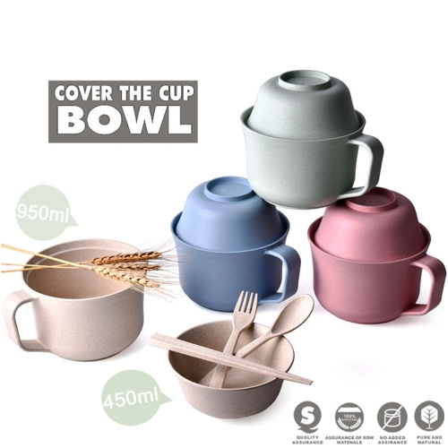 Creative Eco-Friendly Dinnerware Unbreakable Wheat Tableware RL202M Wheat Cup Bowl Wheat Straw Bowls Student Instant Noodles BowlHome &amp; Garden<br>Creative Eco-Friendly Dinnerware Unbreakable Wheat Tableware RL202M Wheat Cup Bowl Wheat Straw Bowls Student Instant Noodles Bowl<br>