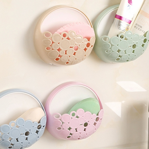 Super Suction Soap Holder Kitchen Bathroom Wall Ventilating Soap Box Multi-functional Household Gadget Accessory Case Simple StyleHome &amp; Garden<br>Super Suction Soap Holder Kitchen Bathroom Wall Ventilating Soap Box Multi-functional Household Gadget Accessory Case Simple Style<br>